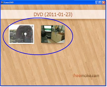 ビデオDVDのスクリーンショットの撮り方