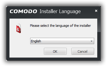 COMODO Installer Languge:Please select the languge of the installer